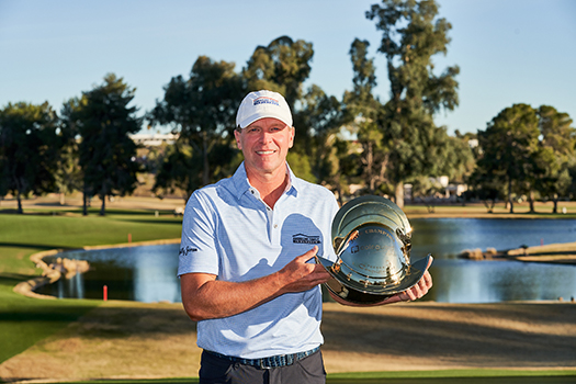 2018 Champion Steve Stricker